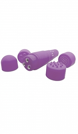 Neon Luv Touch Mini Mite Purple Massager