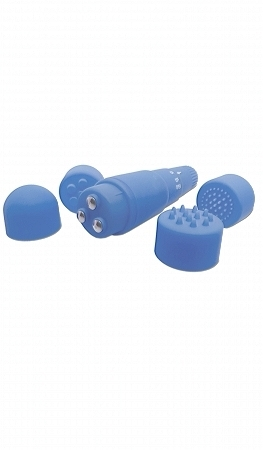 Neon Luv Touch Mini Mite Blue Massager