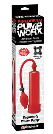 Pump Worx Beginners Pump Red