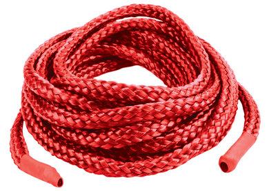 Japanese Silk Love Rope 16 Feet Red