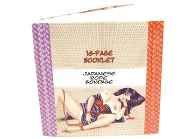 Japanese Silk Love Rope Ankle Cuffs Purple