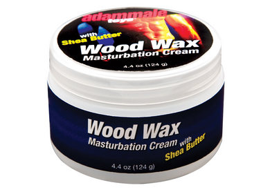 Adam Male Toys Wood Wax Masturbation Cream 4.4oz