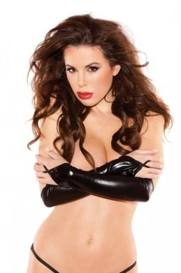 Sexy Siren Gloves Black O/S