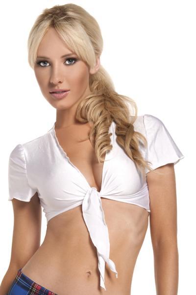 Tie Top White O/S