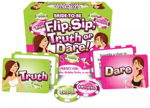 Flip/Sip Truth Or Dare