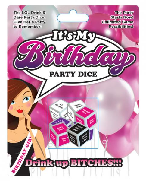 It's My Birthday Party Dice Game