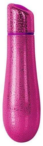Rain Power Bullet Vibrator Textured Fuschia