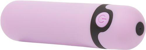 Simple & True Rechargeable Bullet Vibrator Purple