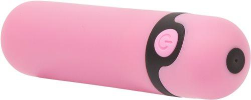 Simple & True Rechargeable Bullet Vibrator Pink