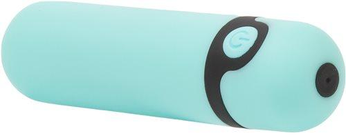 Simple & True Rechargeable Bullet Vibrator Teal