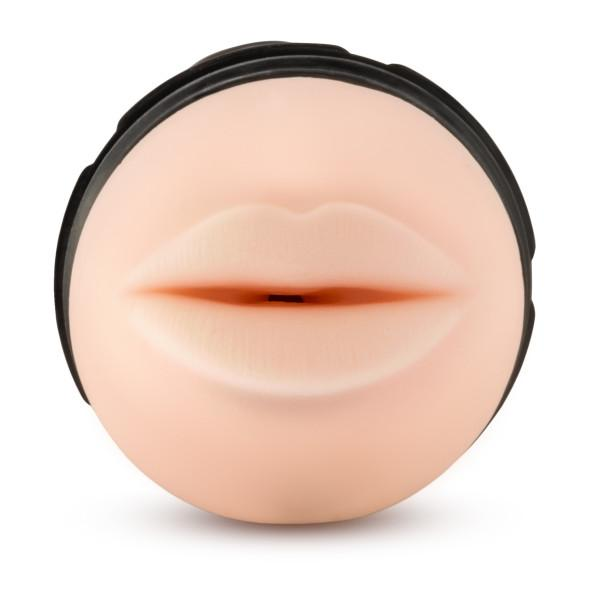 M for Men The Torch Luscious Lips Beige Stroker