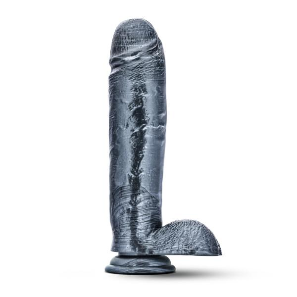 Jet Raven Carbon Metallic Black Dildo