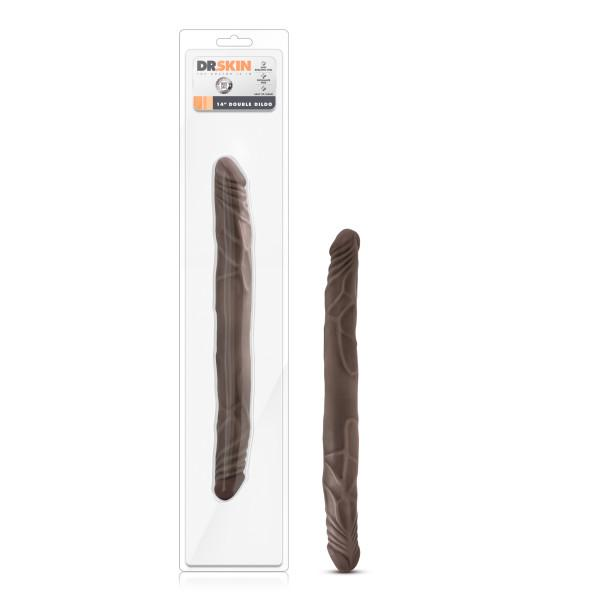Dr. Skin 14 Double Dildo Chocolate