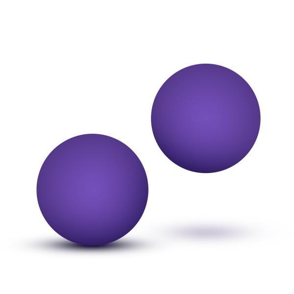 Luxe Double O Advanced Kegel Balls Purple