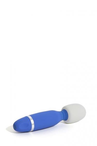 Bthrilled Classic Denim Wand Massager Blue