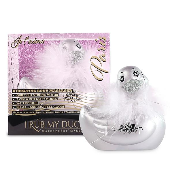I Rub My Duckie 2.0 Paris Silver Vibrating Duck