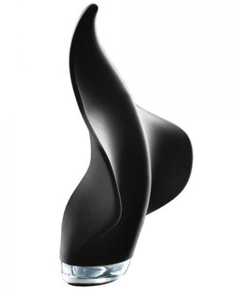 Mimic Manta Ray Handheld Massager Black