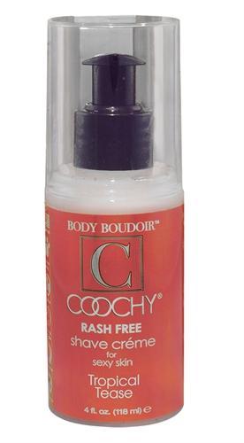 Coochy Shave Cream Tropical Tease 4oz
