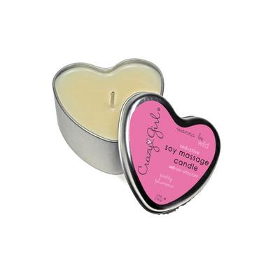 Crazy Girl Soy Massage Candle Plumeria