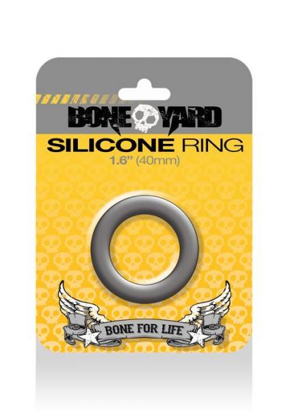 Boneyard Silicone Ring 1.6 inches Gray