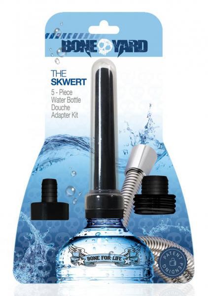 Boneyard The Skwert 5 Piece Water Bottle Douche Adapter Kit