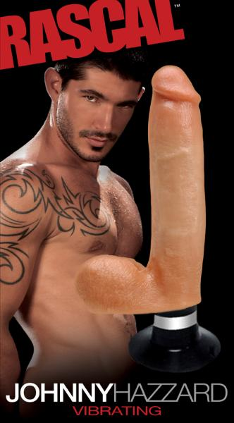Johnny Hazzard DuoTouch 6X Vibrating Dildo