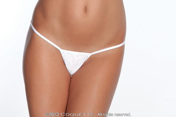 G-String Panty White O/S