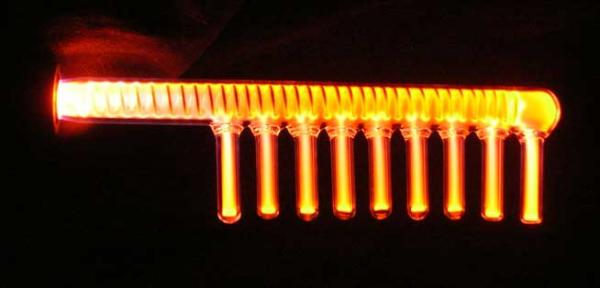 Dr Clockwork Comb Electrode Orange
