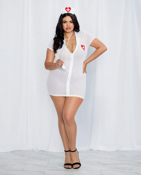ER Hottie Diamond Nurse Bedroom Costume Queen