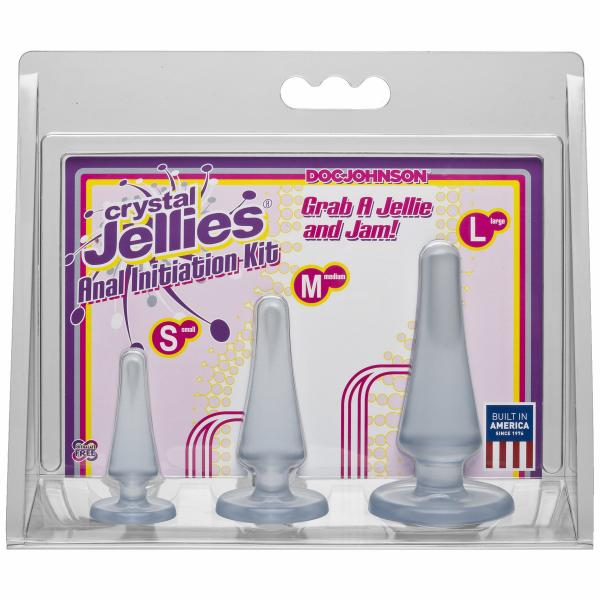 Crystal Jellies Anal Kit Clear