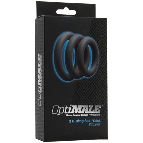 Optimale 3 C Ring Set Thick Slate