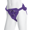 Vac-U-Lock Platinum Supreme Harness with Plug Purple