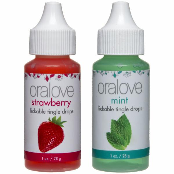 Delectable Duo Strawberry/Mint Tingle Drops