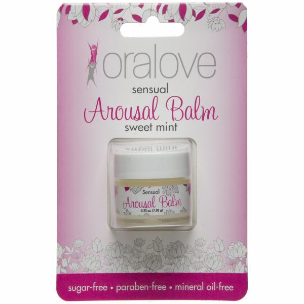 Oralove Arousal Balm Sweet Mint .25oz