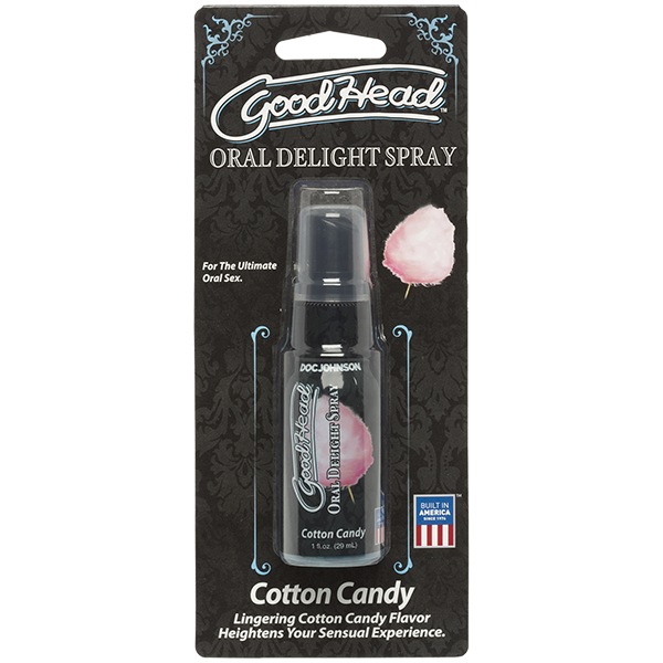 Goodhead Oral Delight Spray Cotton Candy 1oz