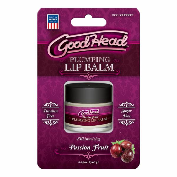 Goodhead Plumping Lip Balm Passion Fruit .25oz