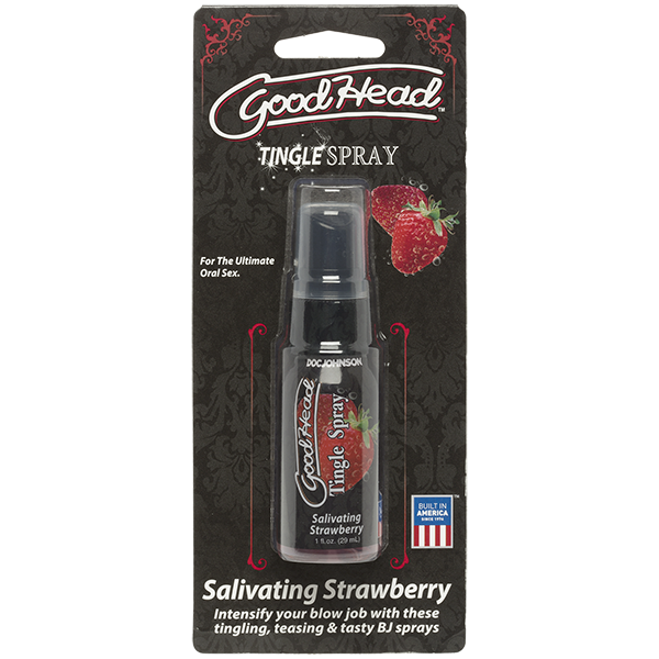 Goodhead Tingle Spray Salivating Strawberry 1oz