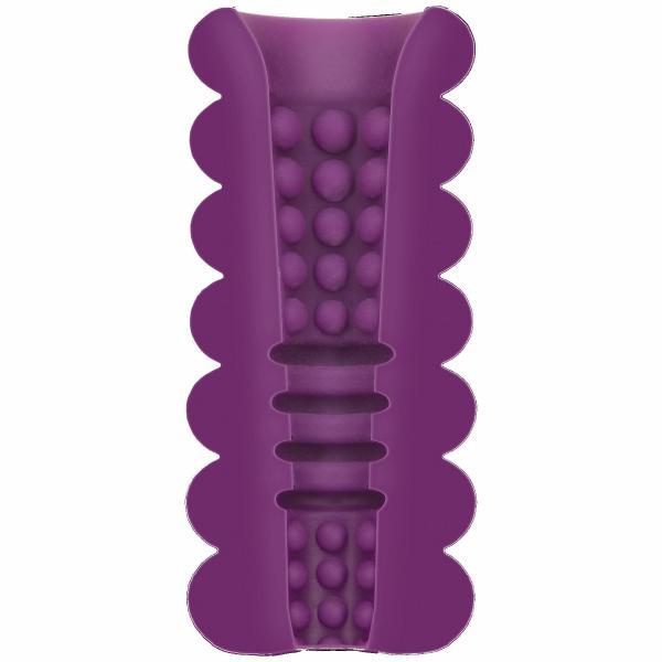 Mood Thrill Triple Texture Purple Stroker