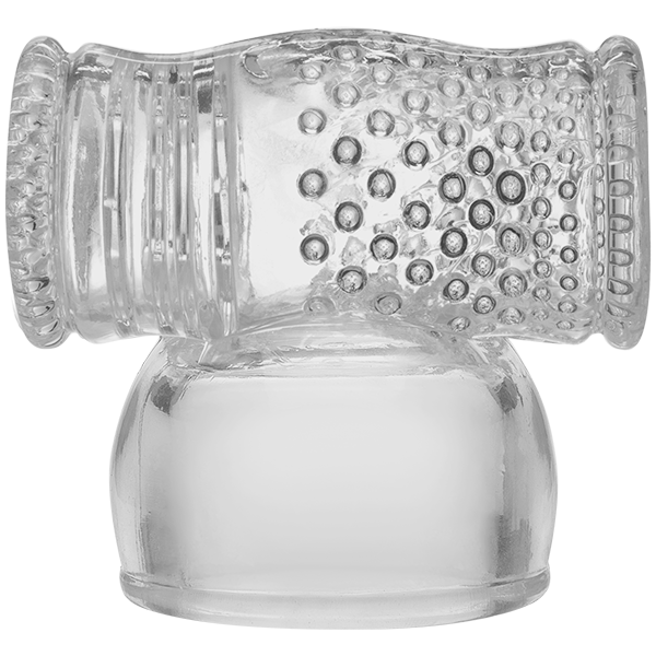 Kink Wand Attachment Cock Stroker Clear