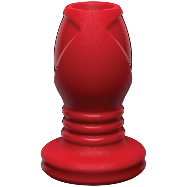 Kink Explore Silicone Anal Plug 4 inches Red