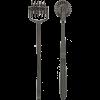 Kink Spike Pinwheel 5 Wheels Gun Metal Black