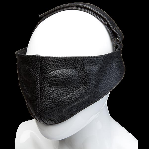 Kink Leather Blinding Mask Black O/S