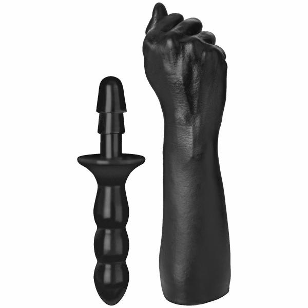 Titanmen Fist with Vac-U-Lock Black