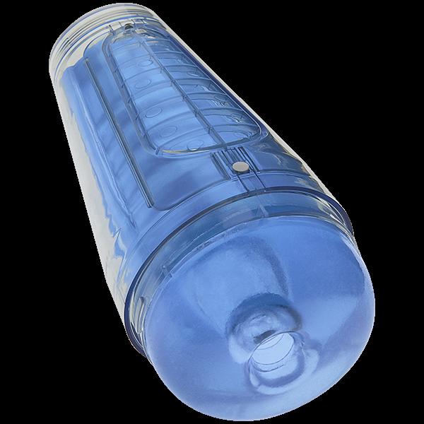 Main Squeeze Optix Crystal Blue Masturbator