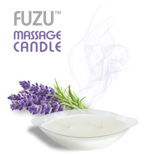 Fuzu Massage Candle Lavender Mist 4oz