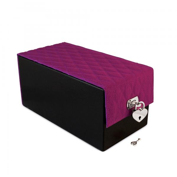Devine Toy Box Purple Quilted
