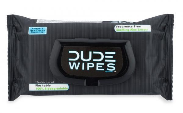 Dude Wipes 48 Piece Pop Up Dispenser