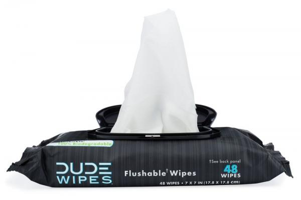 Dude Wipes 48 Piece Pop Up Dispenser