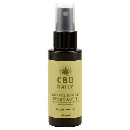 CBD Daily Triple Strength Active Spray 2 fluid ounces