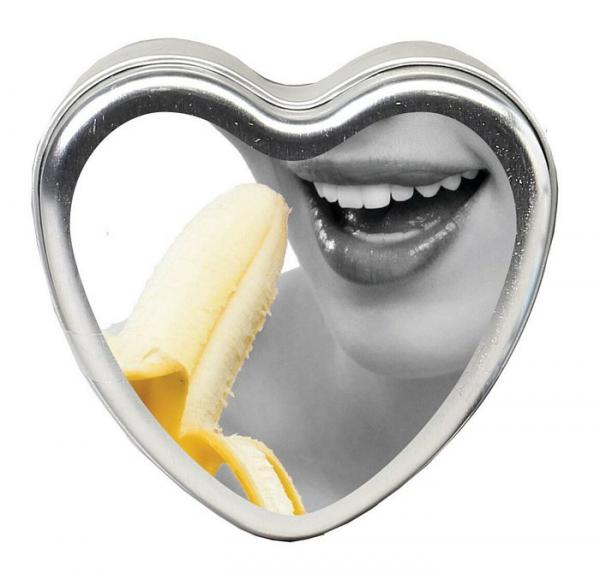 Earthly Body Tropical Edible Candle Banana Daiquiri 4oz
